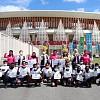 Porwosi Dukung Generasi Muda Sehat, Bantu 1000 Pasang Sepatu Olahraga Untuk Anak Papua dan Papua Barat