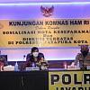 Komnas HAM RI Tinjau Ruang Tahanan Polresta Jayapura Kota