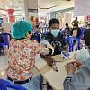 Percepatan Penanganan Covid-19, Polresta Jayapura Kota Gelar Vaksinasi di Mall