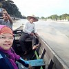 Menelusuri Sungai Martapura Bersama Paspampres