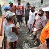 Warga Kampung Kibay Gelar Syukuran Adat Bersama Satgas TMMD