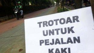 Pejalan Kaki Yang Dipukul Dan Ditendang Ojek Online
