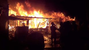 Jelang Lebaran, Puluhan Rumah Terbakar, Ratusan Pengungsi Butuh Bantuan