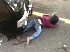 Tabrak Mobil Pick Up, Pengendara Motor Beat Tewas
