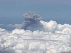 Detik-detik Meletusnya Gunung Merapi yang Disorot dari Langit