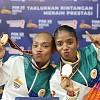 Dua Putri Papua Ini Berhasil Sumbangkan Emas Dari Senam Aerobik