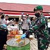 Pemusnahan Ratusan Botol Miras dan Narkotika Hasil Operasi Gabungan TNI Polri di Pegubin