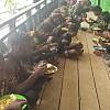 Kebersamaan TNI dan Rakyat di Lokasi TMMD Kampung Nioga Puncak Jaya