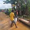 Babinsa Kodim Jayapura Terobos Banjir, Salurkan Bantuan di Kampung Mamberamo