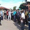 Fak-Fak Dihantui Covid-19, Aksi Demo Berjalan Tanpa Prokes Tidak Dipedulikan Aparat Kepolisian