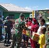 Kodam Cenderawasih Salurkan Bantuan Bagi Warga Terdampak Kerusuhan Yalimo