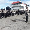 Siap Amankan PSU, Ratusan Anggota Polres Tiba di Nabire