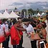 Kontingen PON XX Mulai Tiba di Tanah Papua, Disambut Seremonial Oleh Panitia