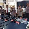 Polda Papua Barat Ungkap Kasus Empat Pucuk Senjata Api Ilegal