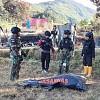 Jenazah Maelani Yang Dibunuh  Kelompok Separatis Papua Berhasil Dievakuasi Satgas Kolakopsrem 172/PWY