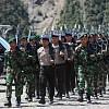Pasca Kontak Tembak di Intan Jaya, Aparat TNI Polri Siaga