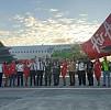 Air Asia Mendarat Perdana di Sorong