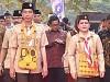 Presiden Jokowi Dan Ibu Negara Iriana Menghadiri HUT Pramuka Ke-57